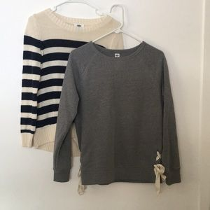 2 XS Old Navy Sweater/Sweatshirt Tops